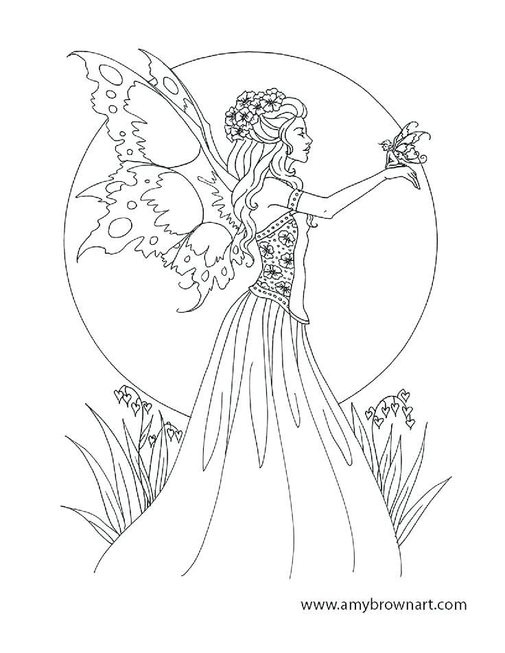 736x952 Fairy Coloring Pages Printable Fairy Coloring Pages Cute Fairy