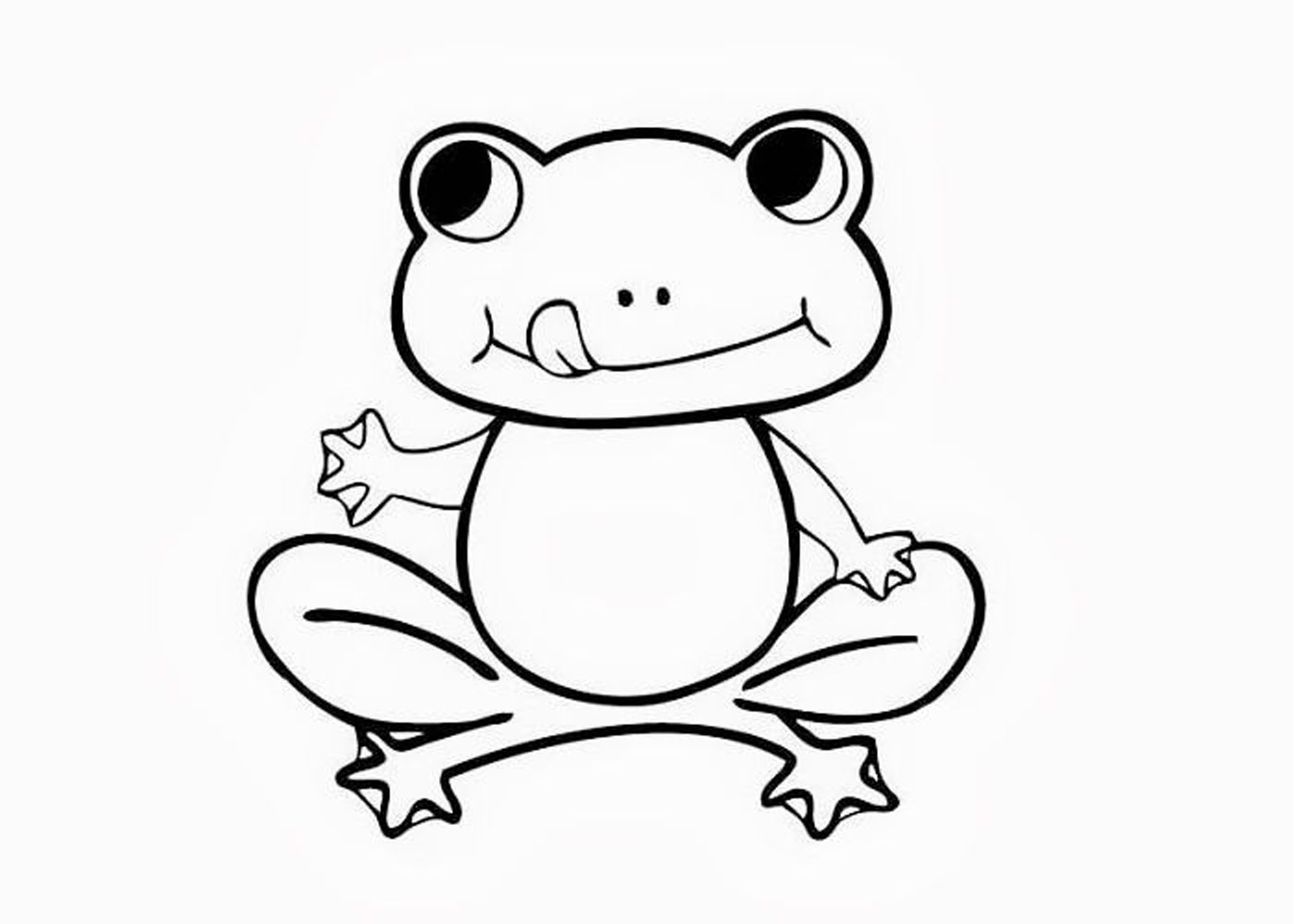 2000x1429 Cute Frog Coloring Pages Free Printable Orango Prixducommerce