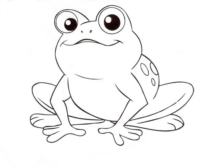 700x547 Frog Coloring Pages