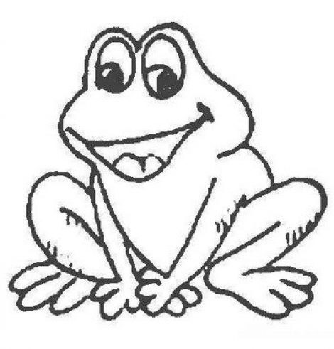 470x491 Cute Frog Coloring Pages Coloring Pages For Kids