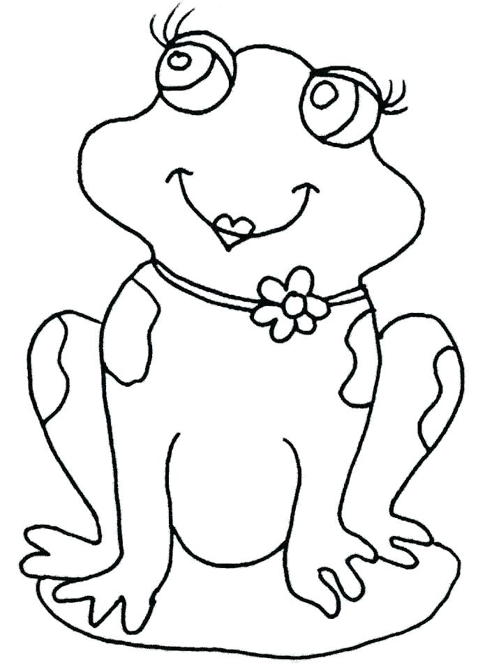 Cute Frog Coloring Pages at GetDrawings.com | Free for personal use ...