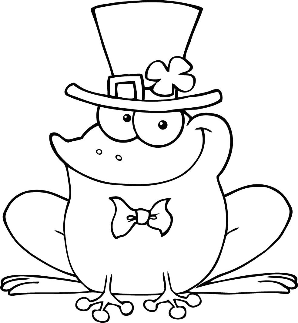 983x1065 Cute Frog Coloring Pages Free Coloring Pages
