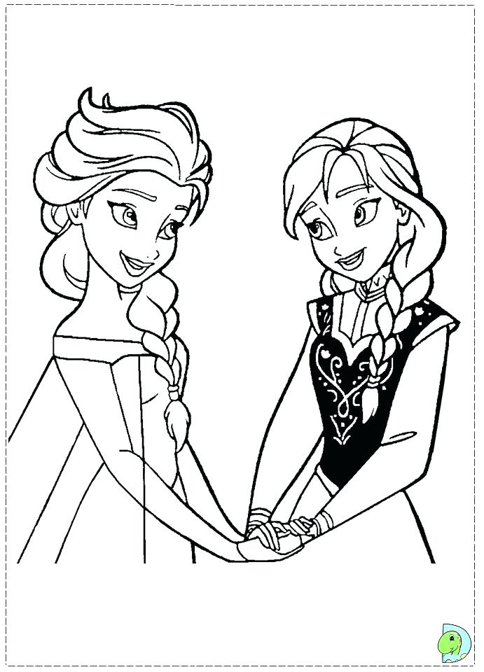 691x960 Anna Frozen Coloring Pages And Frozen Coloring Pages Cute Frozen