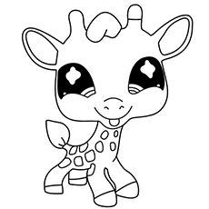 230x230 Littlest Pet Shop Coloring Pages For Kids