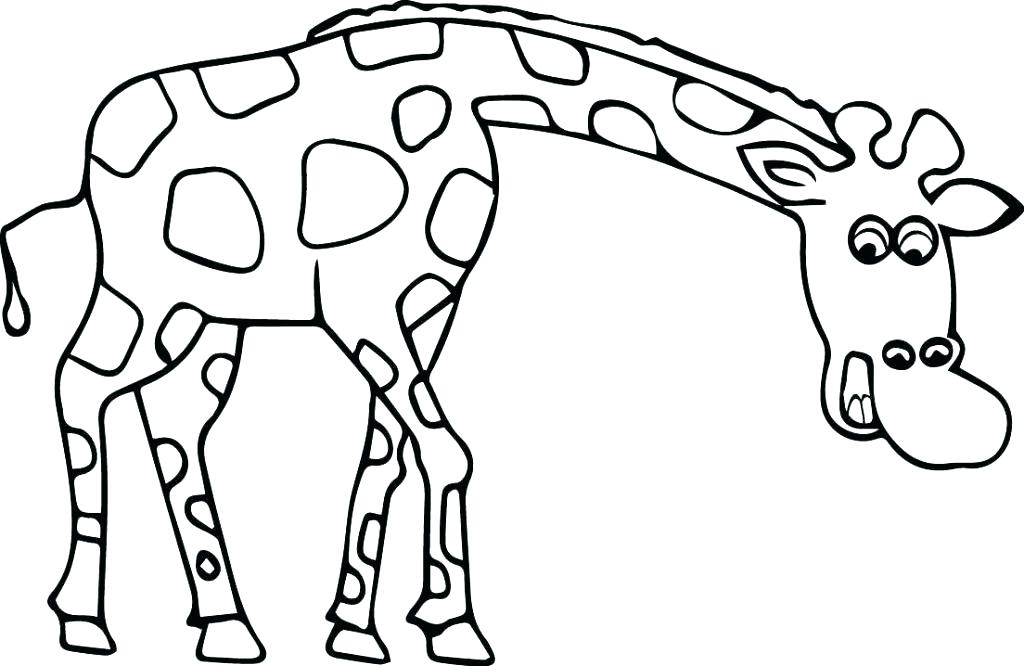 1024x666 Coloring Pages Giraffe Giraffe Coloring Page Giraffe Coloring