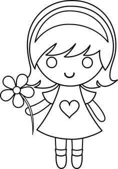 236x337 Cute Coloring Pages For Girls Color Bros