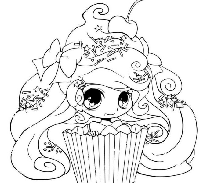 Cute Girl Coloring Pages at GetDrawings | Free download