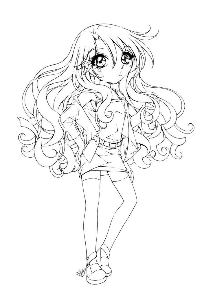 736x1037 Cute Girl Coloring Pages Best Coloring Pages Images