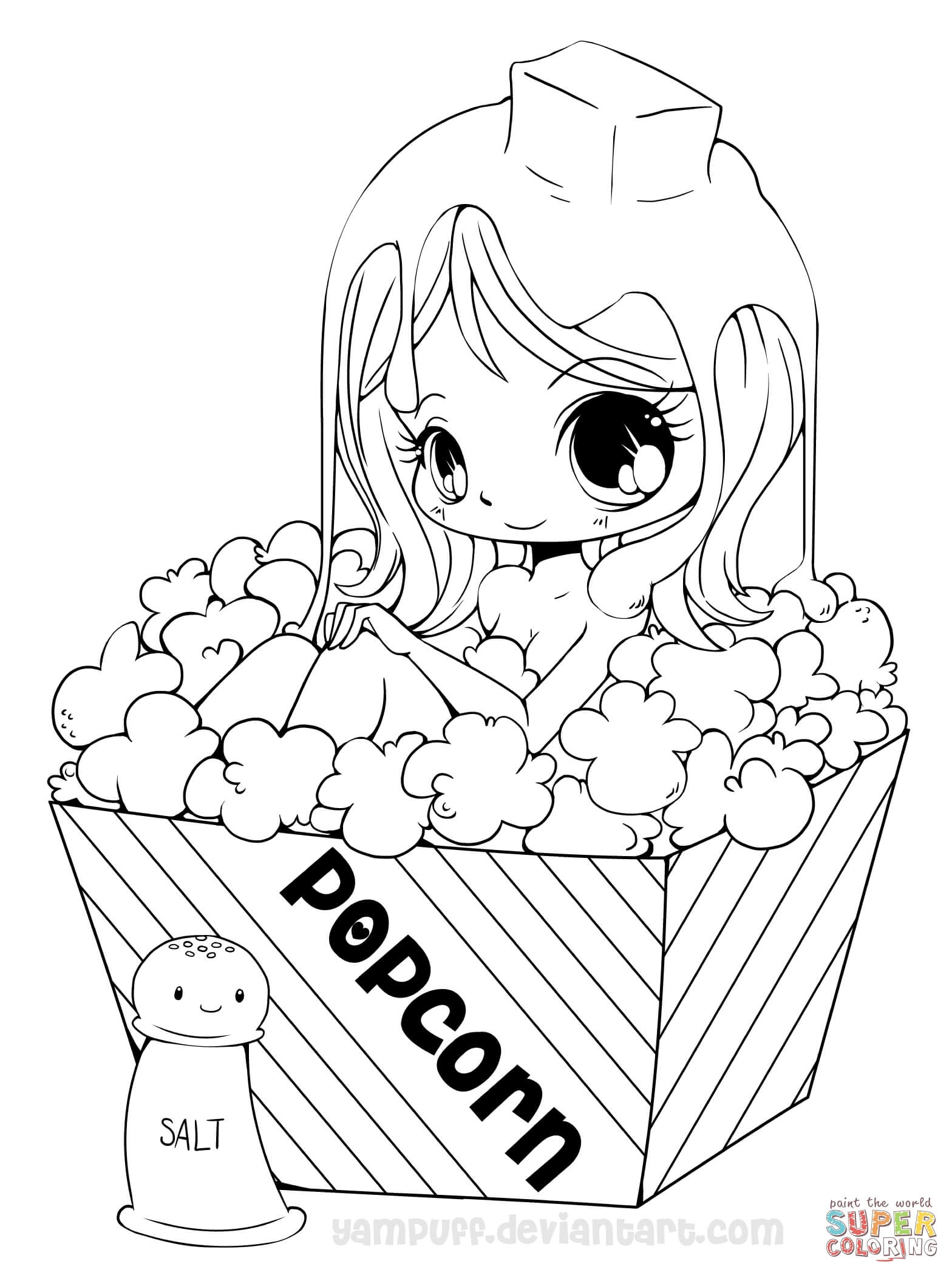 1568x2100 Cute Girl Coloring Pages