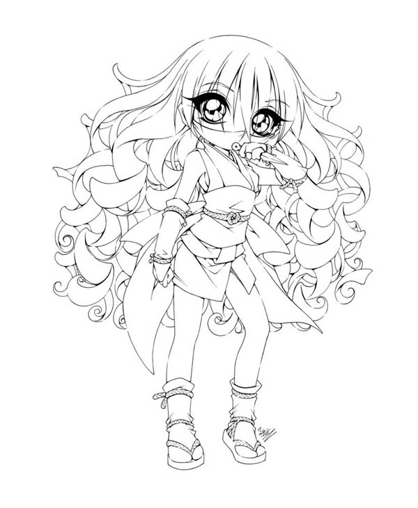 Cute Girl Coloring Pages Print At Getdrawings Com Free For
