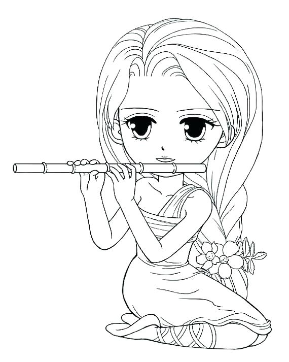 570x713 Cute Girly Coloring Pages Amusing Cute Girly Coloring Pages Image