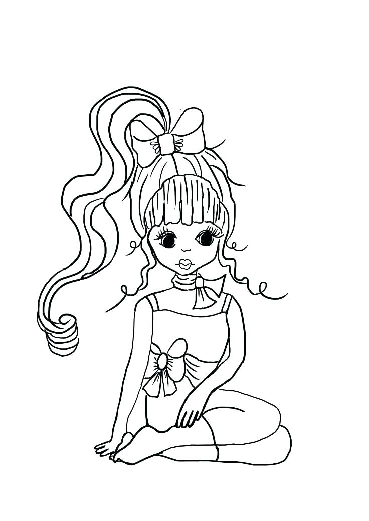 736x1041 Cute Girly Coloring Pages Girly Coloring Pages To Print Cute Girly