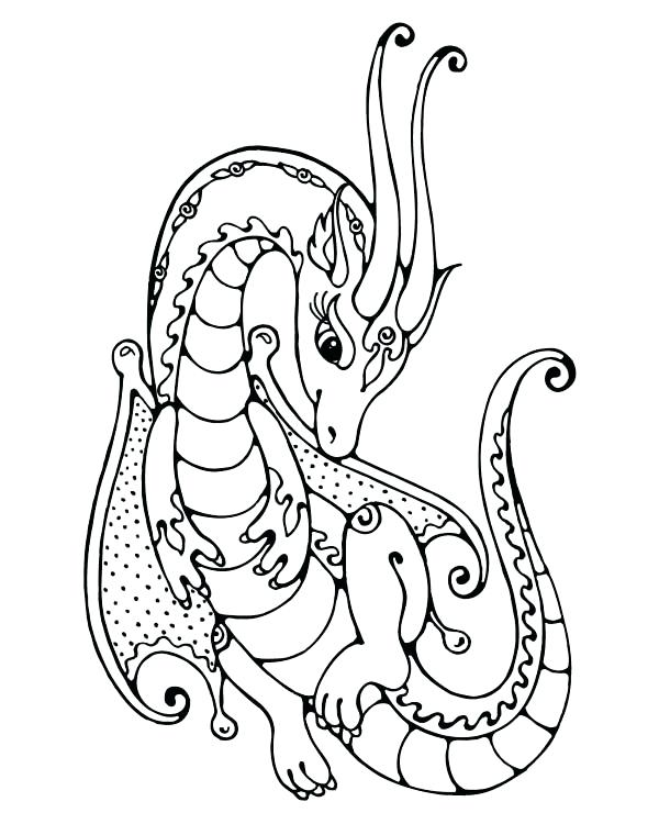 600x750 Cute Dragon Coloring Pages Girly Coloring Pages To Print Very Cute