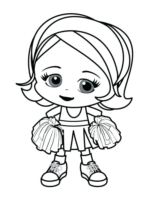 600x776 Cute Girl Coloring Pages Related Post Cute Anime Girl Colouring