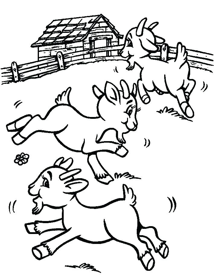 709x912 Goat Coloring Pages Goat Coloring Pages Beard Coloring Pages Goat