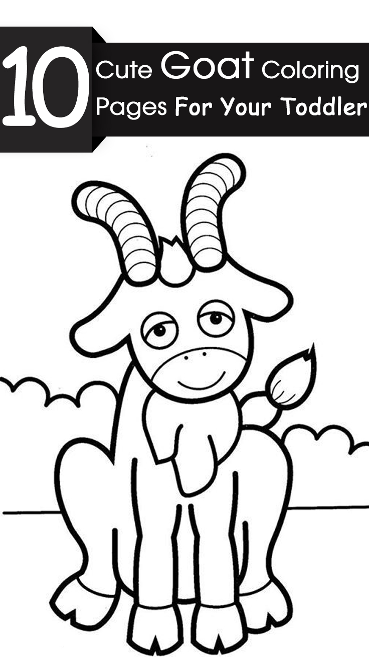 736x1317 Top Free Printable Goat Coloring Pages Online Goats