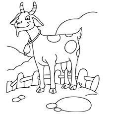 230x230 Top Free Printable Goat Coloring Pages Online