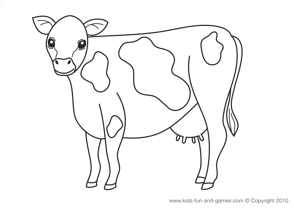 1024x726 Cute Goat Coloring Sheets For Kids