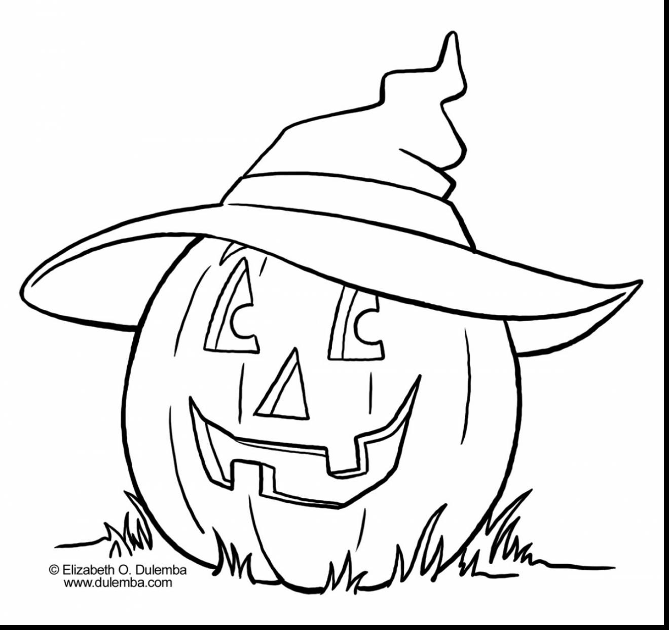 Cute Halloween Coloring Pages At Getdrawings Com Free For