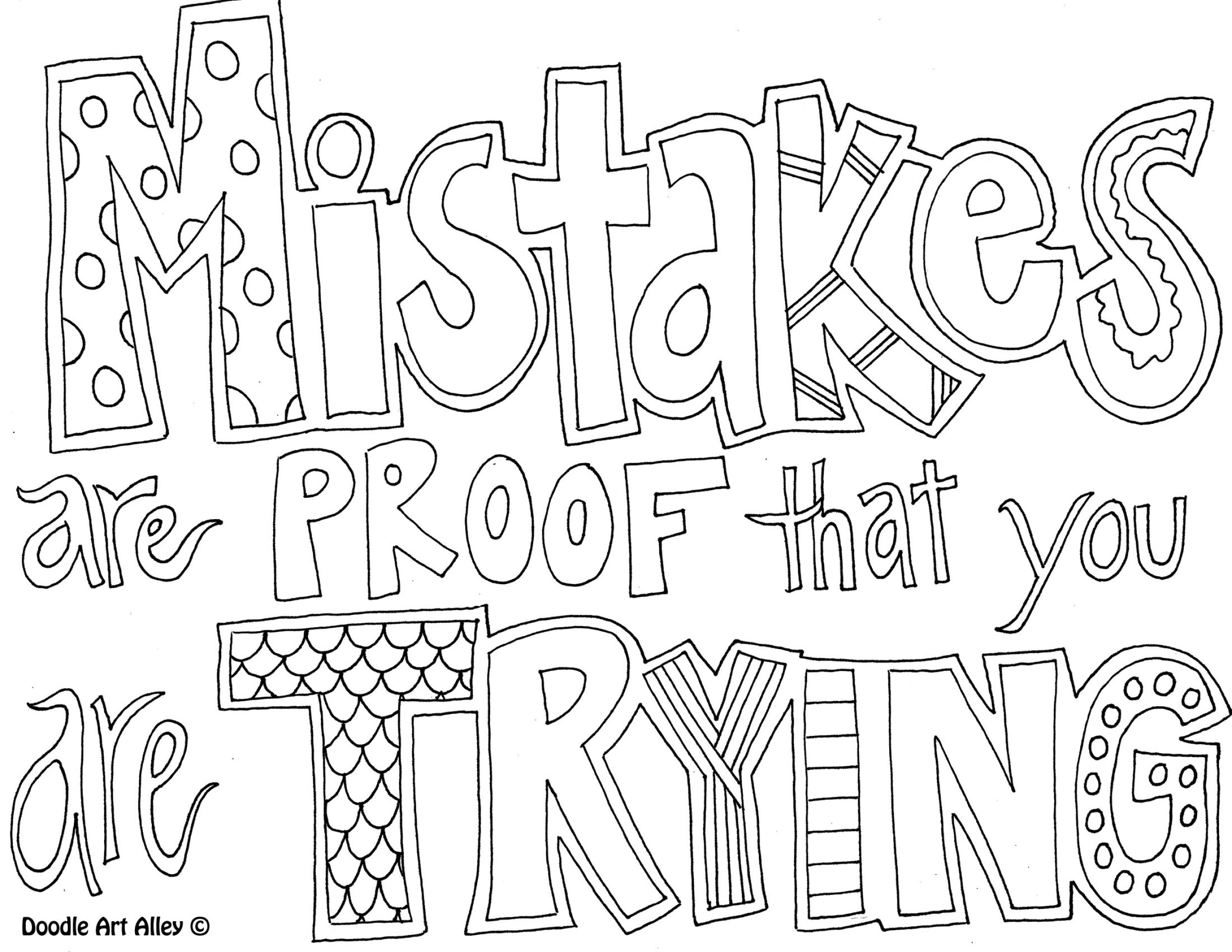 2484x1920 Coloring Page Mistakes Are Proof That You Trying Grade Lovely