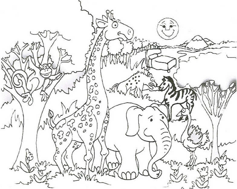 784x626 Hard Cute Coloring Pages Of Animals Best Of Hard Coloring Animals