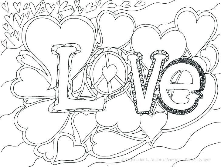 728x551 Cute But Hard Coloring Pages