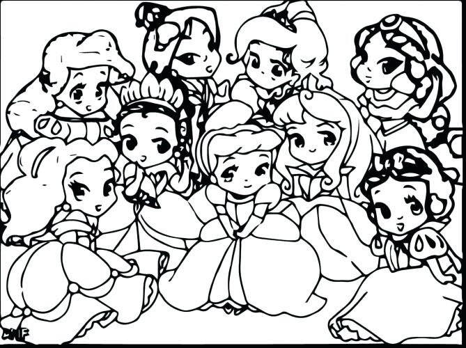 669x500 Cute Hard Coloring Pages