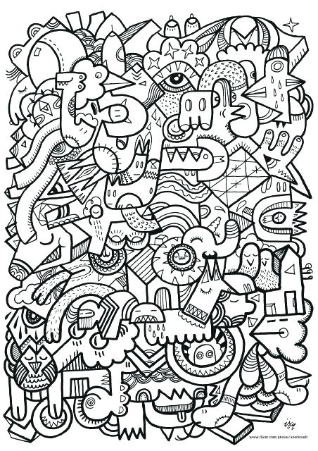 452x640 Hard Coloring Pages