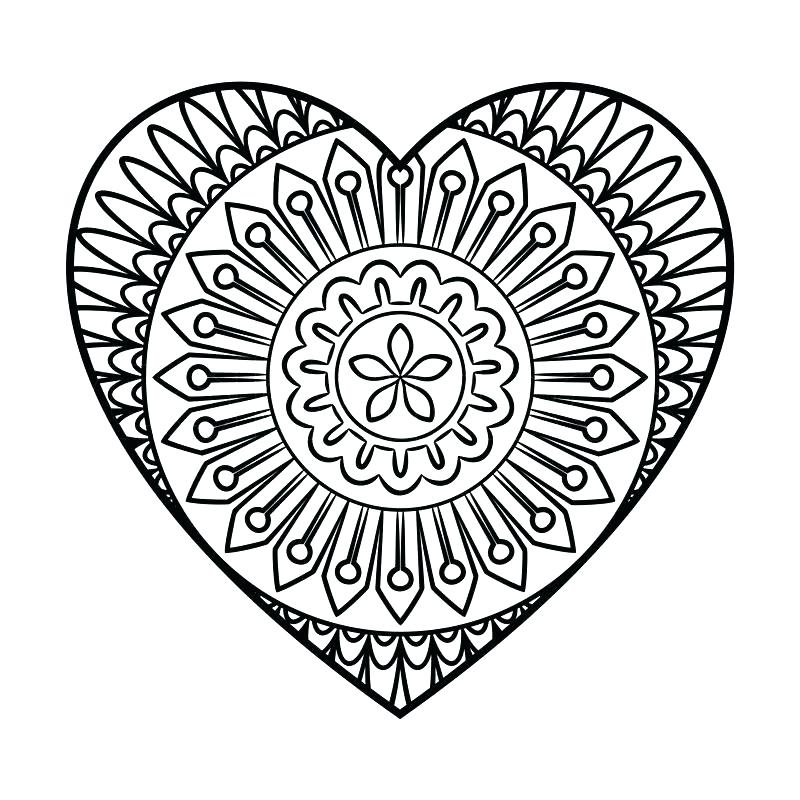 800x800 Shape Color Pages Heart Shape Coloring Pages Basic Shapes Free