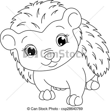 450x455 Cute Hedgehog Coloring Pages Hedgehog Coloring Page Image Cute