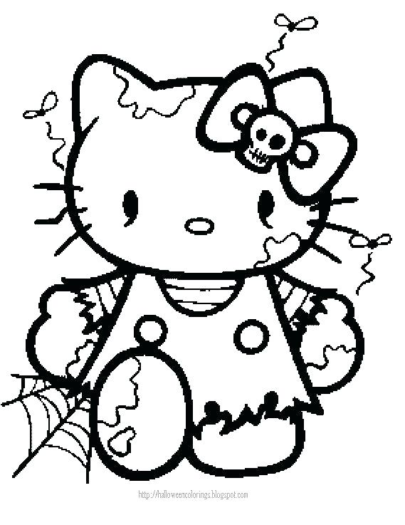 569x737 Hello Kitty Coloring Pages Hello Kitty Coloring Pages Bad Kitty