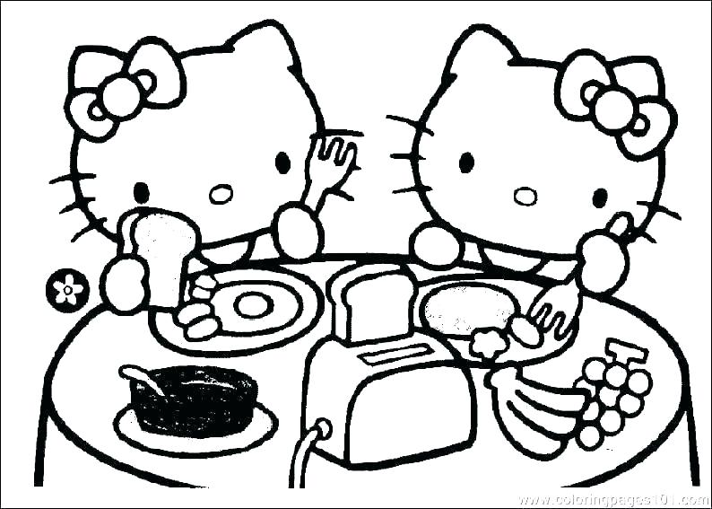 794x567 Kitty Coloring Pages Hello Kitty Coloring Page Awesome Hello Kitty