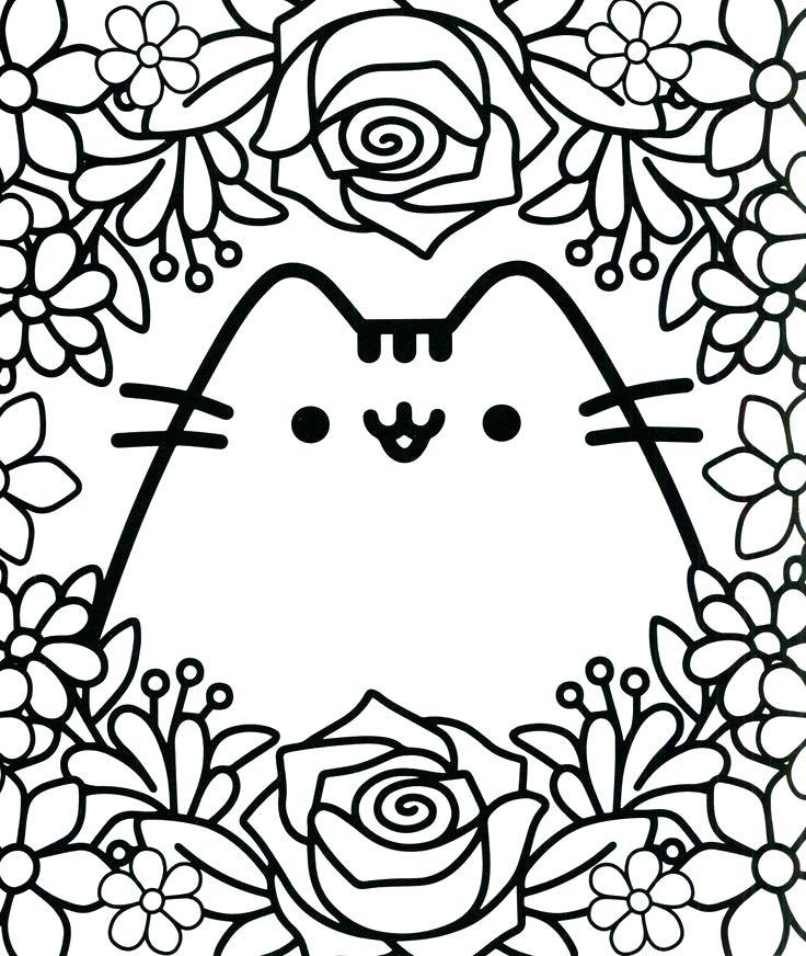cute kawaii coloring pages 24