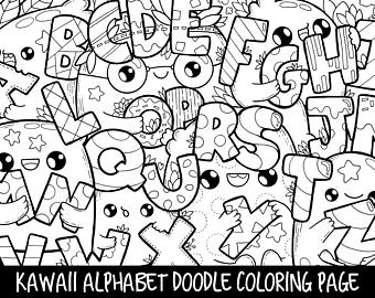 340x270 Popsicle Doodle Coloring Page Printable Cutekawaii Coloring