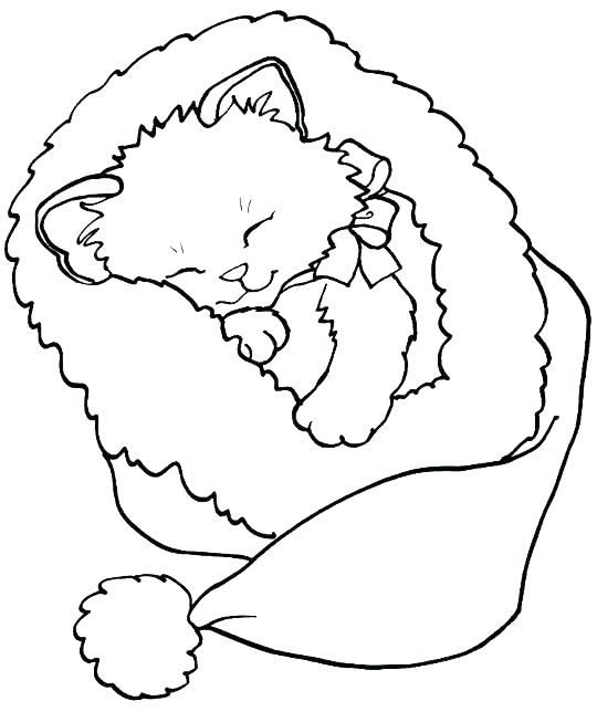 540x644 Kitten Color Pages Kitten Coloring Pages Coloring Page Pretty