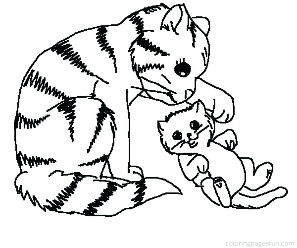 960x800 Kitties Coloring Pages Cute Kitten Coloring Pages Kittens Coloring