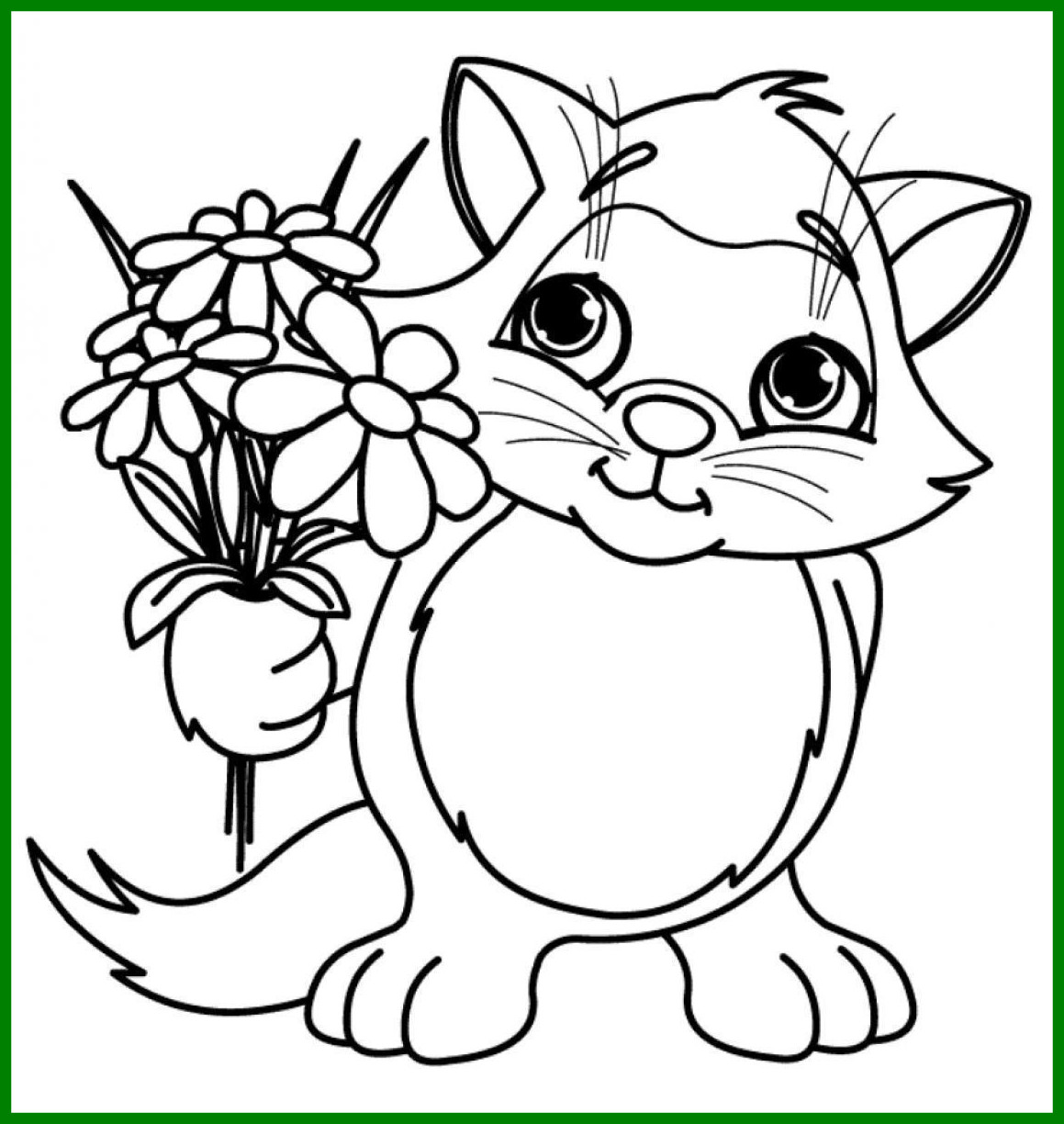 1159x1224 Marvelous Cute Kitten Coloring Pages Fairy Picture For Inspiration