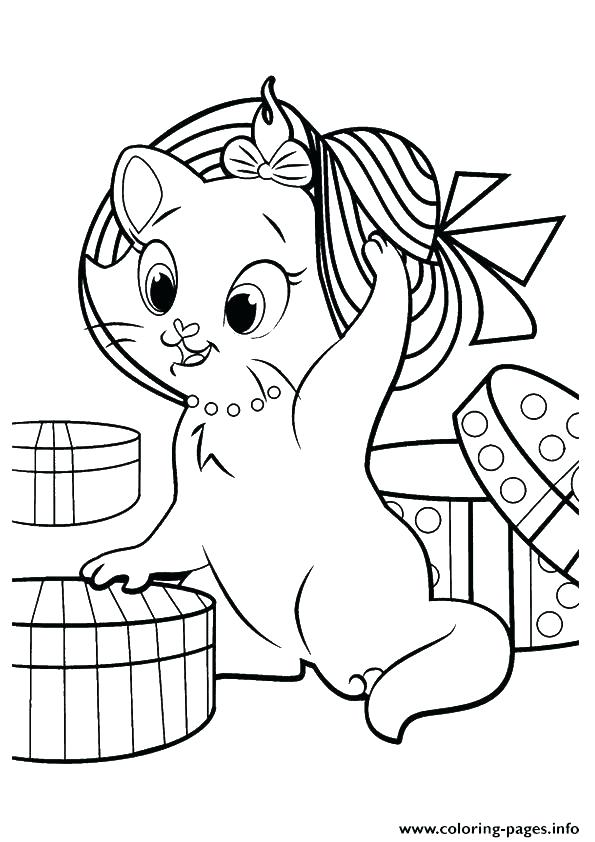 595x842 Cute Kitten Coloring Pages Coloring Page Kitten The Kitten