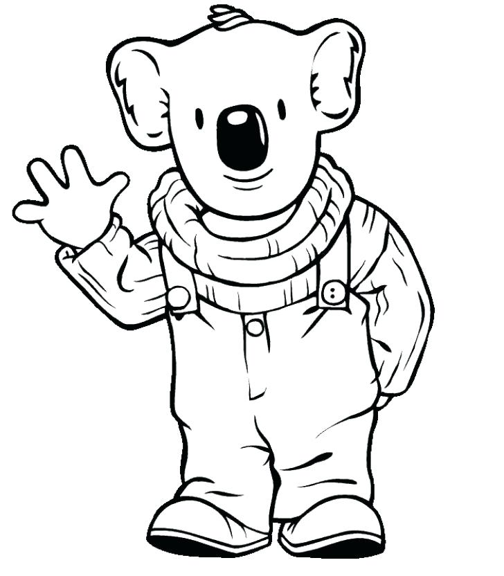 728x832 Koala Coloring Pages Cute Koala Coloring Pages Page For Kids Koala