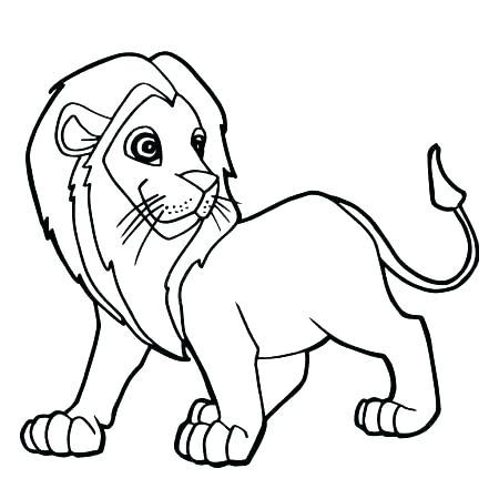 450x450 Coloring Lion Lion Coloring Pages To Print Lion Coloring Pages