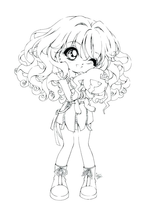 600x836 Cute Coloring Pages For Girls Cute Coloring Pages For Girls Cute