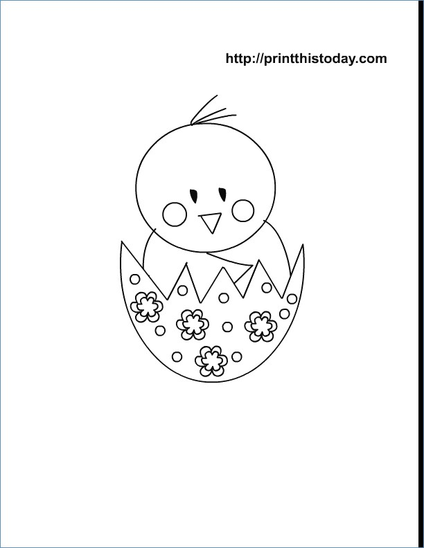 612x792 Cute Little Girl With Easter Egg And Easter Bunny Coloring Pages