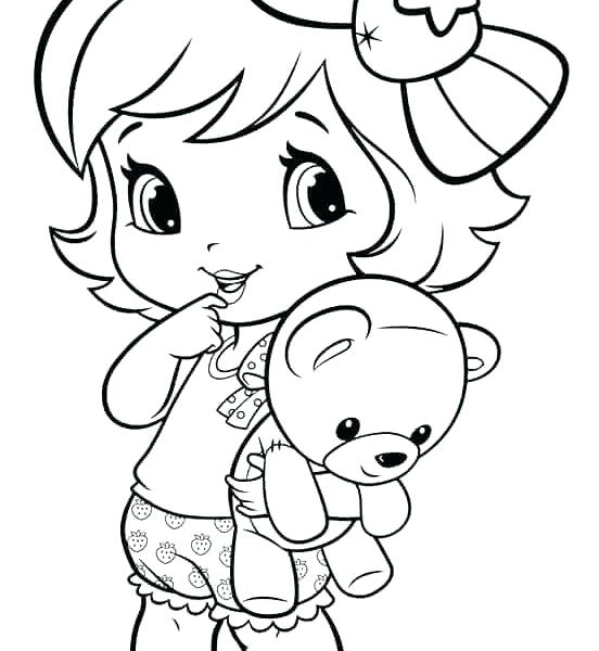 552x600 Girls Coloring Pages Kids Coloring Little Girl Coloring Pages