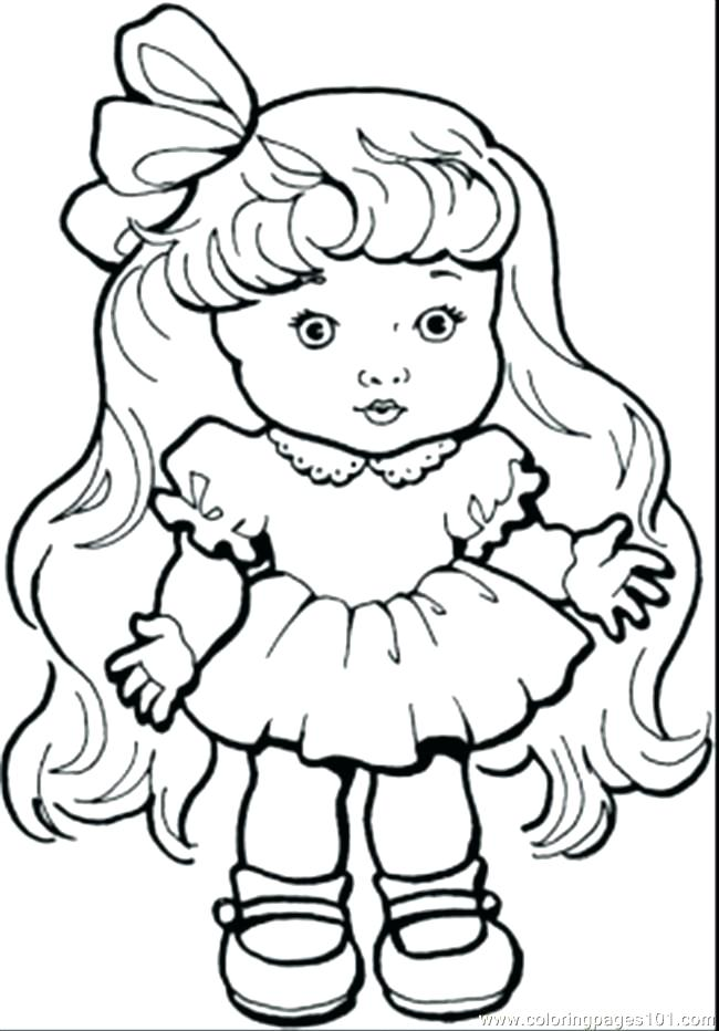 650x932 Little Girl Coloring Pages Printable Girl Coloring Pages Stunning