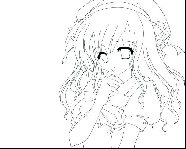 625x500 Manga Girl Coloring Pages Anime Boy Coloring Pages Coloring Pages