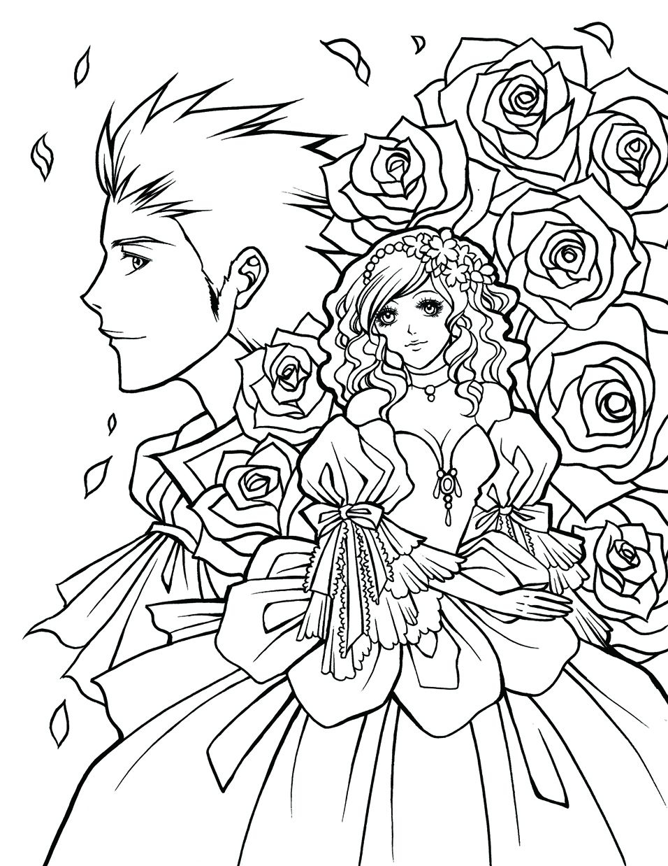 956x1238 Outstanding Cute Manga Coloring Pages Images