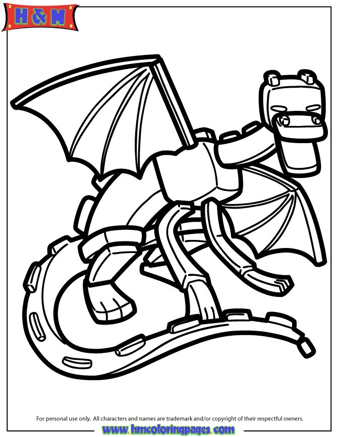 Cute Minecraft Coloring Pages