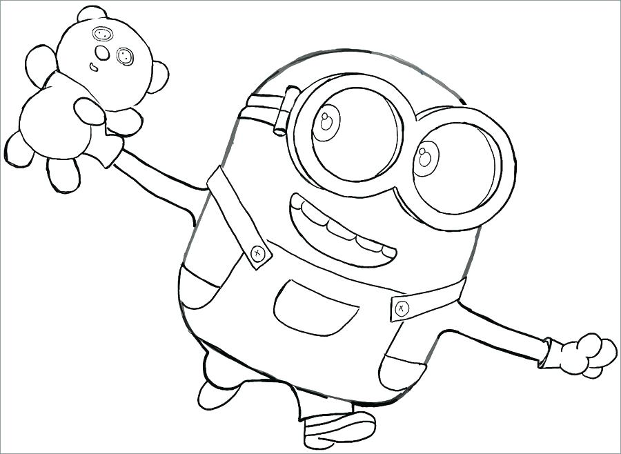 900x658 Minion Coloring Sheets Cute Minion Coloring Pages Cute Minion