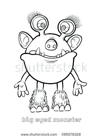 348x470 Halloween Monster Coloring Pages Monsters Coloring Pages Monster