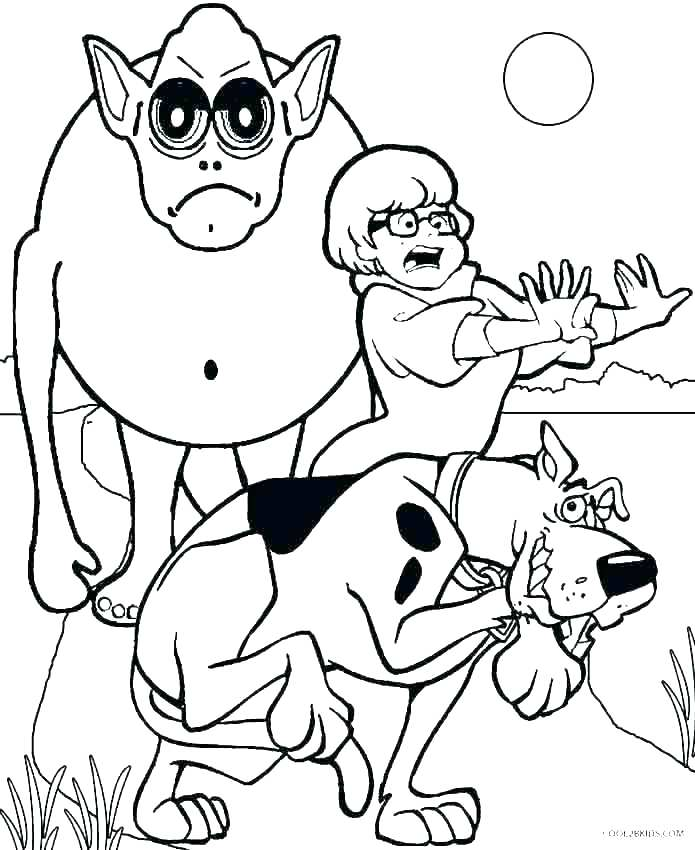 695x850 Monster Coloring Pages Colouring Pages Cute Monsters Monster